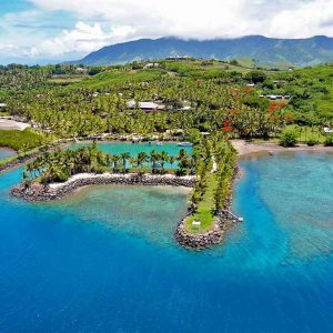 Fiji - Rakiraki - Wananavu Beach Resort - Grounds and Surrounds - Aerial - Wananavu-Resort-Fiji-Hero-1