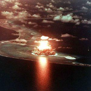 Micronesia - Bikini Atoll - Nuclear bom test