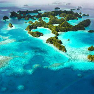 Master Liveaboards - Palau Siren - Palau Islands_Aerial
