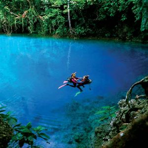 Vanuatu - Tourism - Diving - Blue Hole Dive-VAN358